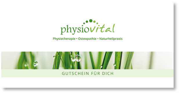 Gutschein-Physiovital